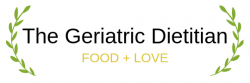 The Geriatric Dietitian horizontal logo