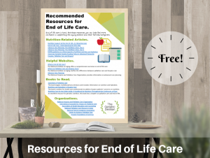 Free Product- Resources for End of Life Care