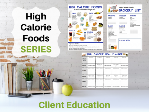 High Calorie Foods SERIES