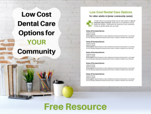 Low Cost Dental Care Options mock uo