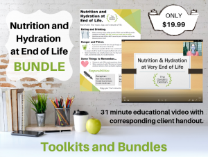 Nutrition and Hydration at End of Life BUNDLE mock up