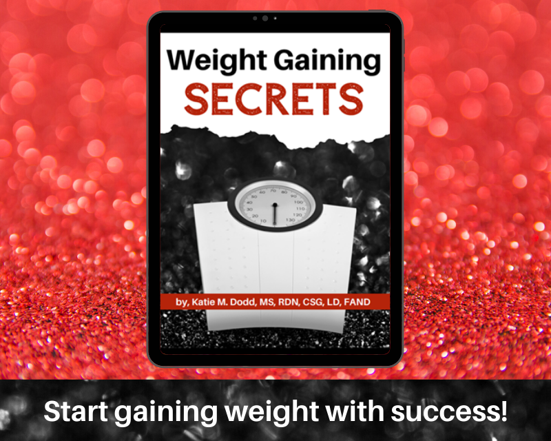 Weight Gain Secrets E-Book