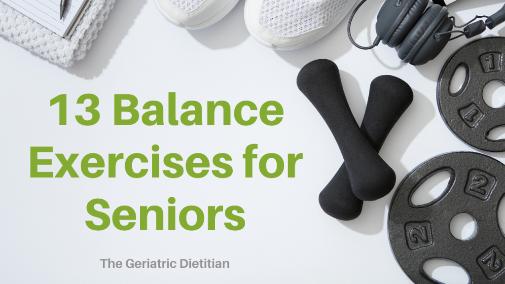 13 Balance Exercises for Seniors