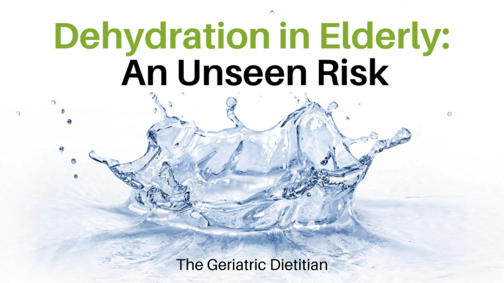 Dehydration in Elderly
