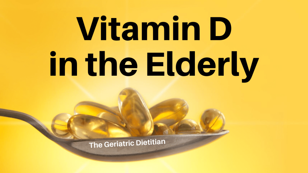 Vitamin D in the Elderly