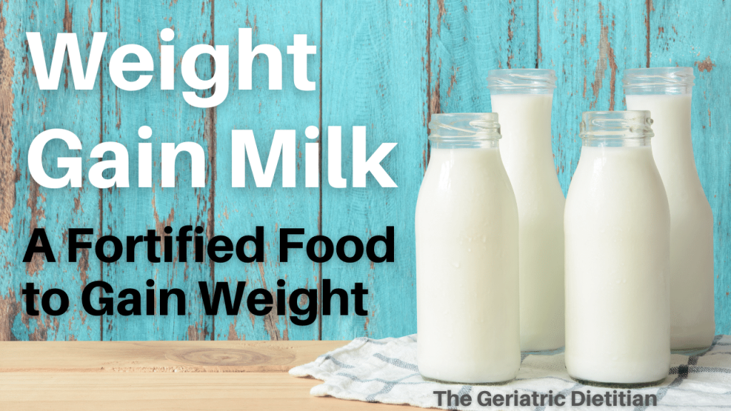Weight Gain Milk- A Fortified Food to Gain Weight